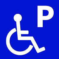 障害者用駐車場あり